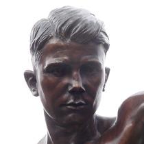 Teddy Baldock - statue