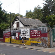 Poplar Rate Rebels mural