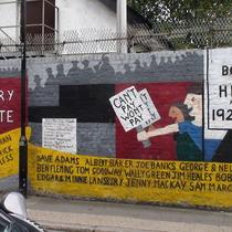 Poplar Rate Rebels mural - 2