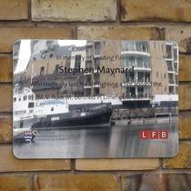 Stephen Maynard - steel plaque