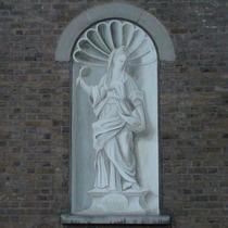 St Mary's trompe l'oeil - Siddons
