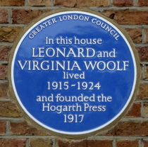 Leonard and Virginia Woolf