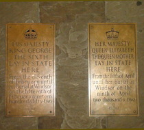 Westminster Hall - King George VI & Queen Elizabeth