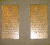 Westminster Hall - King George V & Queen Mary