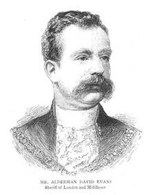 Alderman David Evans