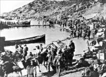 Anzac Cove landing