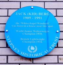 Jack (Kid) Berg - Burlington Court