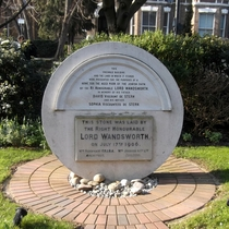 Lord Wandsworth - monument