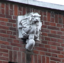 Millstream House - gargoyle