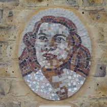 Morley mosaics - KEW - Violette Szabo