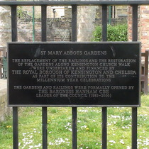 St Mary Abbots Gardens