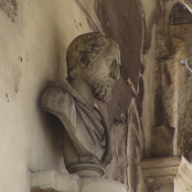 Bust at Holland House - unknown