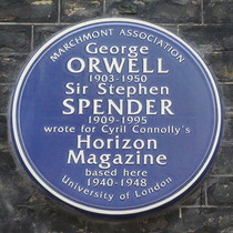 Orwell, Spender & Cyril Connolly's Horizon Magazine
