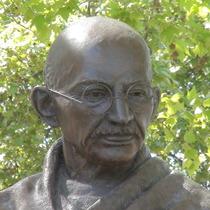 Gandhi statue - Parliament Square
