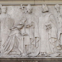 Sealing of the Magna Carta - Parliament Square