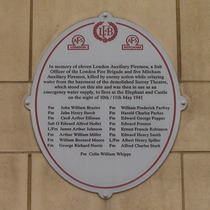 Surrey Theatre WW2 bomb