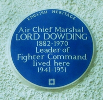 Air Chief Marshal Dowding - SW19 - 2
