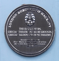 Eagle Tavern - plaque