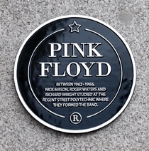 University of Westminster - Pink Floyd