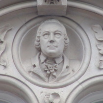 Keats House at Guy's - bust 2 - Thomas Guy?