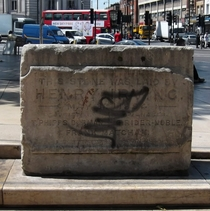 Brixton Theatre foundation stone