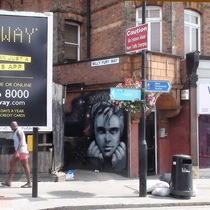 Billy Fury mural