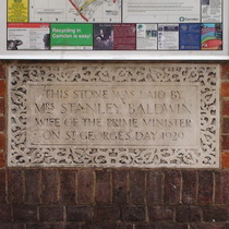 Mrs Baldwin at Kingsgate Community Centre