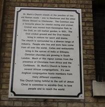 St Marks, Kennington - history