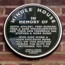 Hindle House Blitz bomb