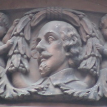 Caxton Hall - head 3 - Shakespeare