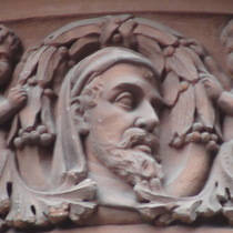 Caxton Hall - head 6 - Chaucer