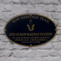 Bow Railway Station