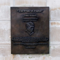 Teddy Baldock - plaque