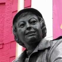 Joan Littlewood - Stratford statue