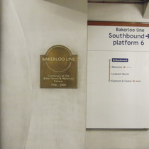 Baker Street and Waterloo Railway Centenary - Embankment