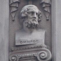 Temple Bar memorial - Homer