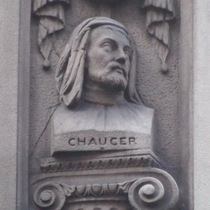 Temple Bar memorial - Chaucer