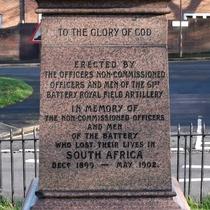 Woolwich Boer war memorial