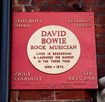 David Bowie - Beckenham