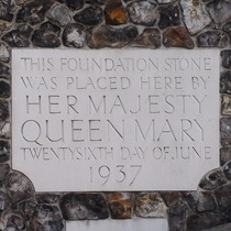 Church House - foundation stone