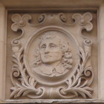 Old Westminster Library - head 5 - Milton