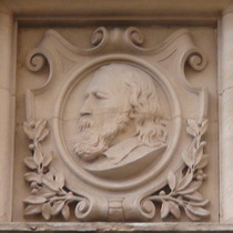 Old Westminster Library - head 6 - Tennyson