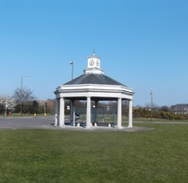 Andrew Gibb drinking fountain and shelter