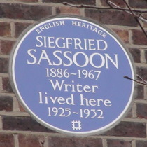 Siegfried Sassoon - W8