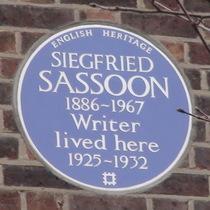 Siegfried Sassoon - W8
