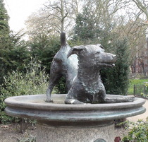 Esme Percy fountain