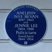 Aneurin Bevan and Jennie Lee