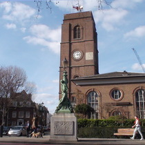 Chelsea Embankment - Old Church