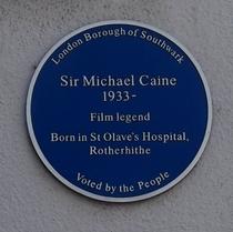 Michael Caine - Southwark Park Road