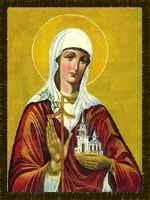 Saint Ethelburga / Aethelburh